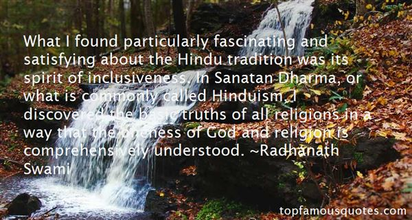 Quotes About Hindu Dharma