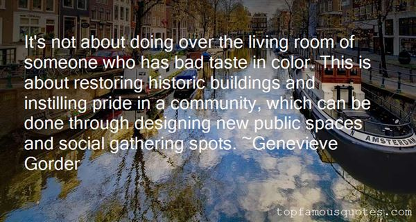 Quotes About Historic Buildings