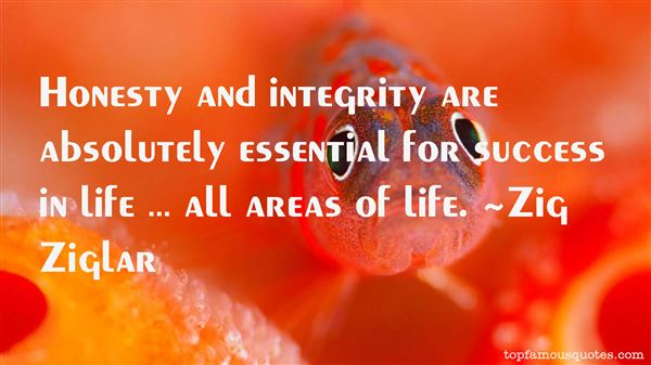 Quotes About Honesty And Integrity