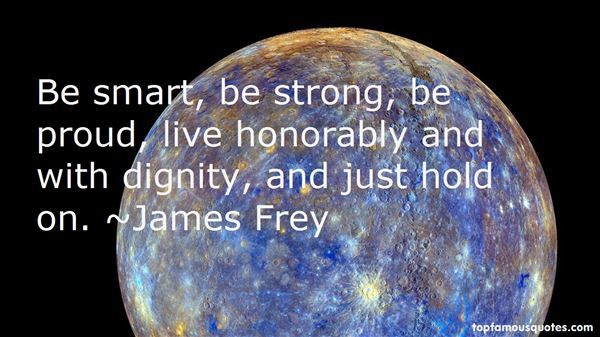 Quotes About Honor And Dignity