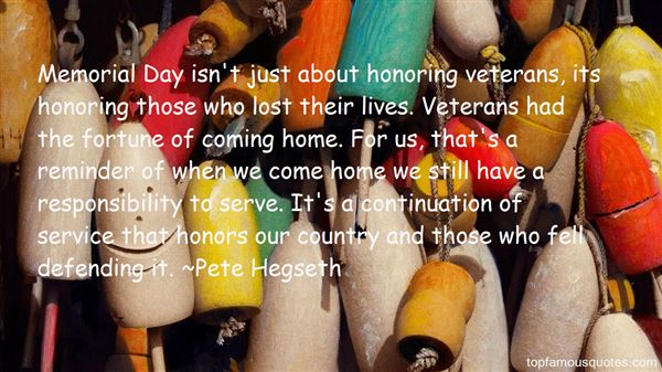 Quotes About Honoring Veterans