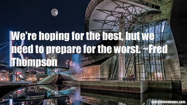 Quotes About Hoping For The Best