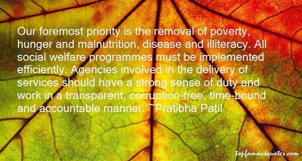 Quotes About Hunger And Malnutrition