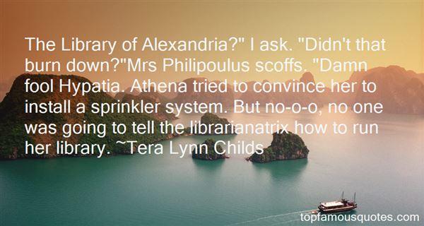 Quotes About Hypatia