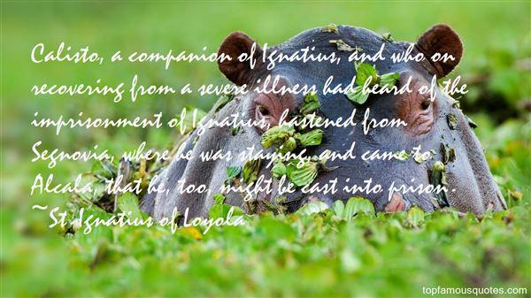 Quotes About Ignatius