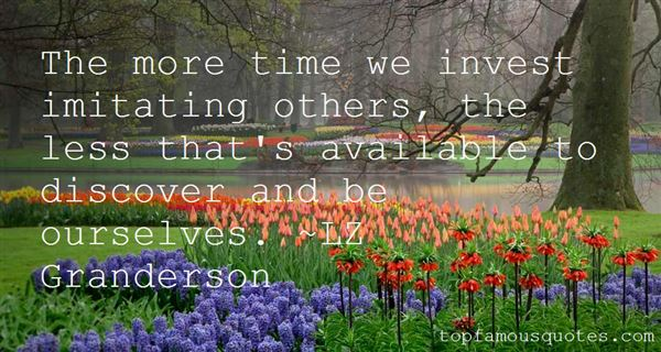 Quotes About Imitating Others