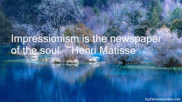 Quotes About Impressionism