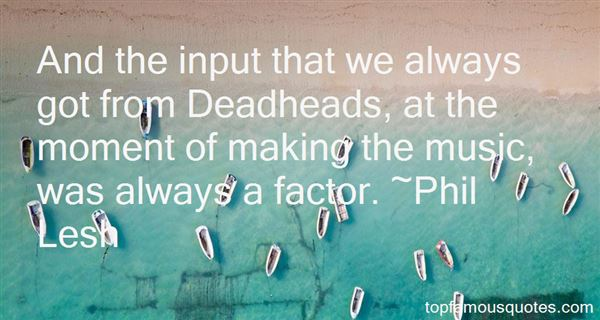 Quotes About Input