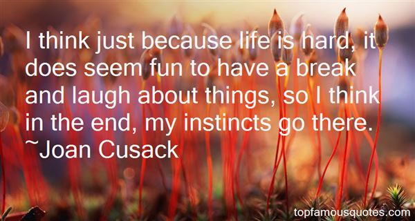 Quotes About Instinct