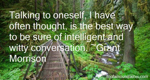 Quotes About Intelligent Conversation