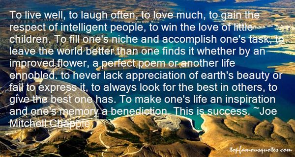 Quotes About Intelligent Life
