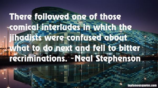 Quotes About Interludes