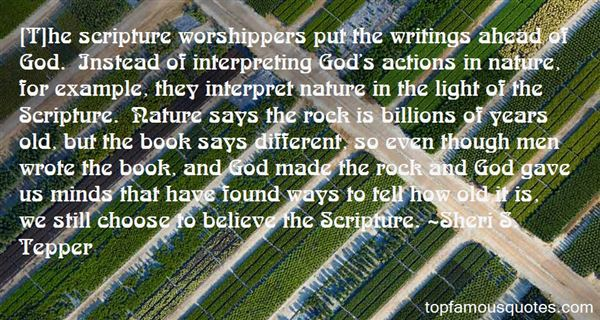 Quotes About Interpreting Scripture
