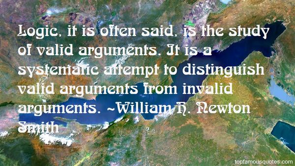 Quotes About Invalid Arguments