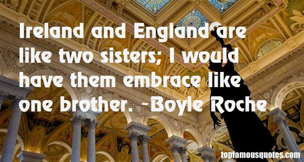 Quotes About Ireland And England