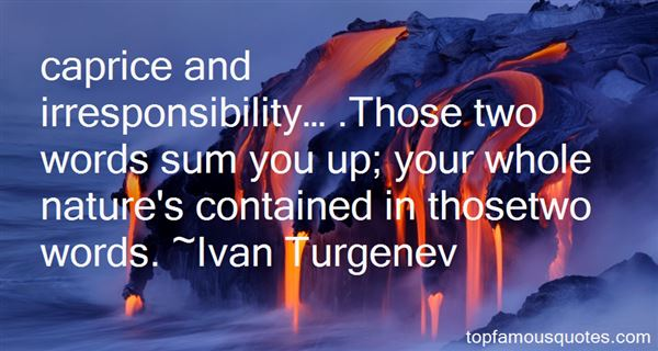 Quotes About Irresponsibility