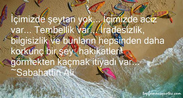 Quotes About Isizlik