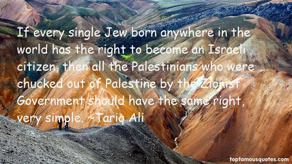 Quotes About Israeli Palestine