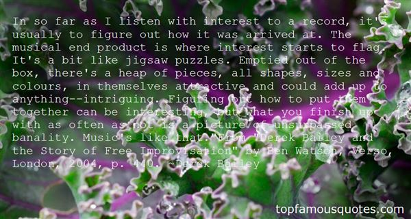 Quotes About Jigsaw Pieces