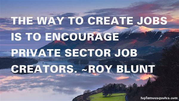 Quotes About Job Creators