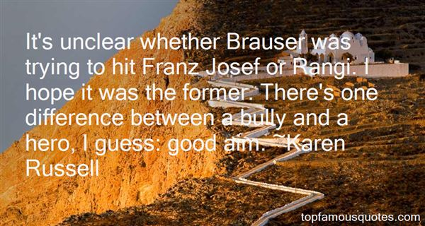 Quotes About Josef