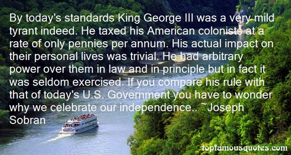 Quotes About King George Iii
