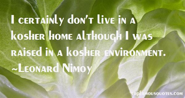 Quotes About Kosher
