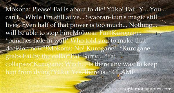Quotes About Kurogane