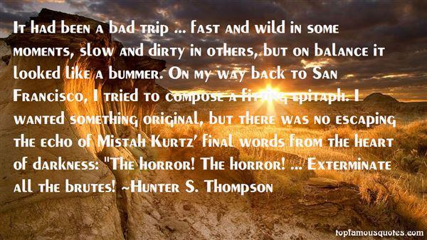 Quotes About Kurtz
