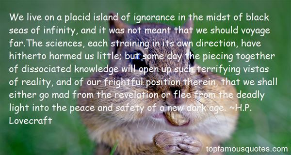 Quotes About Lack Of Knowledge