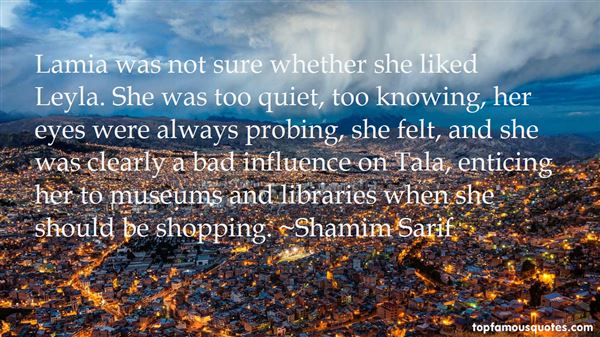 Quotes About Lamia