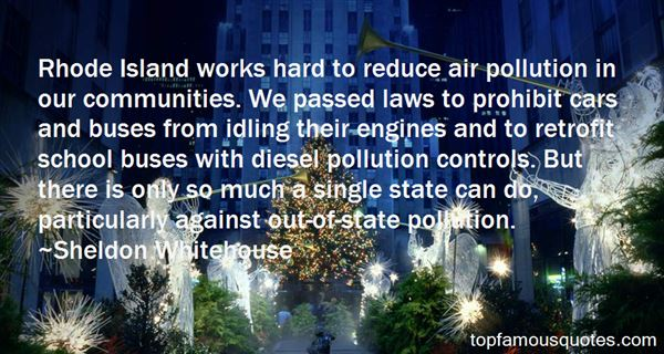 Quotes About Land Pollution