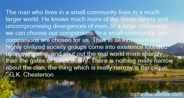 Quotes About Large Groups