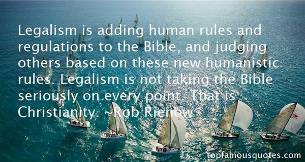 Quotes About Legalism In Christianity