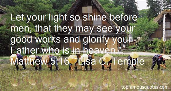 Quotes About Let Your Light Shine