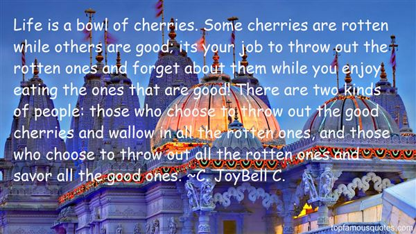 Quotes About Life And Cherries