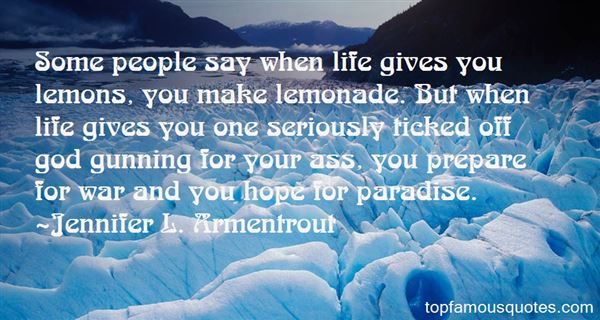 Quotes About Life Gives You Lemons