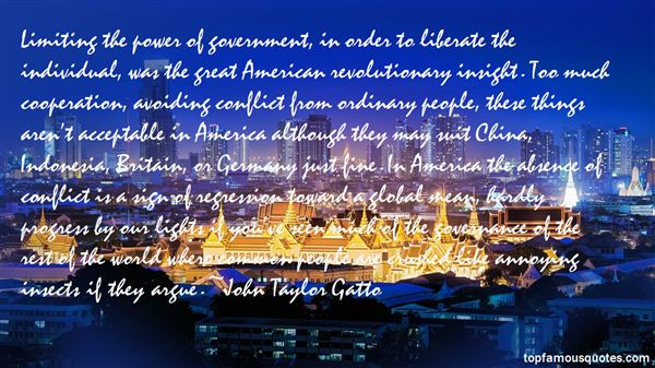 Quotes About Limiting Government