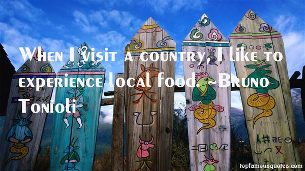 Quotes About Local Food