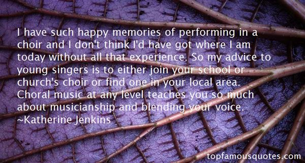 Quotes About Local Music
