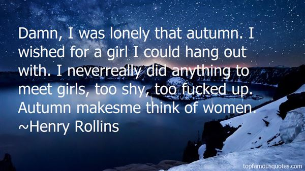 Quotes About Lonely Girl
