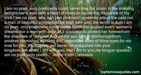 Quotes About Love Poetic
