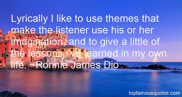 Quotes About Lyrical Life