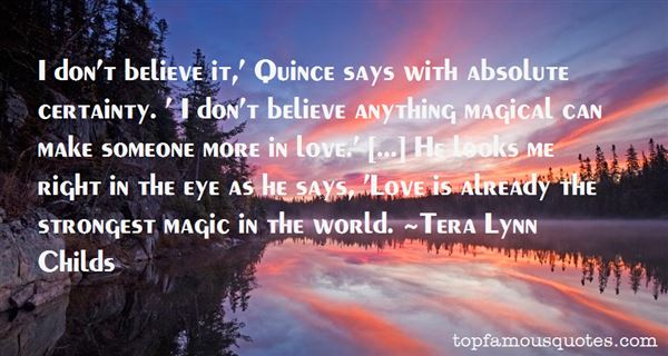 Quotes About Magical Love