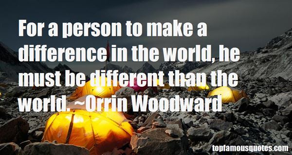 Quotes About Make A Difference