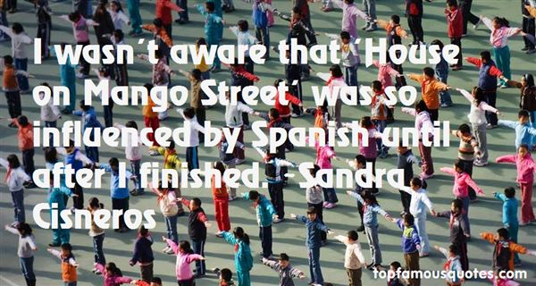 Quotes About Mango Street