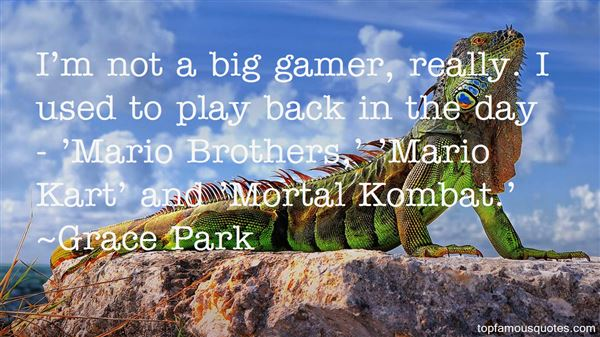 Quotes About Mario Kart