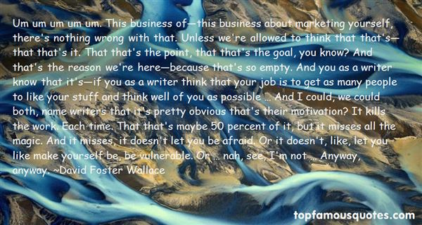 Quotes About Marketing Yourself