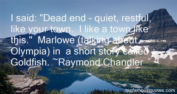 Quotes About Marlowe