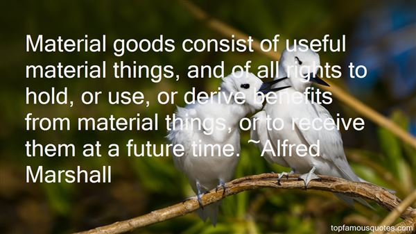 Quotes About Material Goods